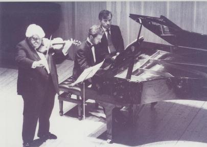 Concert with Norbert Brainin